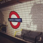 La stazione più antica del mondo!! #london #londra #bakerstreet #tube #station #underground #sherlockholmes #holmes #sherlock #uk #detective #subway #watson #doctorwatson