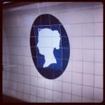 The Queen! #victoriastation #tube #victoria #queen #londra #london #tubestation #stop #underground #subway #westminster #nationalrail