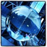 #timefold #aerospace #sphere #vortex #architecture #londra #london #londonlife #water #twist #sculpture #blue #vortice #city #centre #financialcentre #sfera #picoftheday #photosofengland