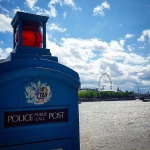 #police #public #callbox #thames #london