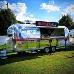 #burgershack #silvertrailer #vintagetrailer #olddeerpark #kew #rugby #fanzone #richmond #rwcfanzone #rugbyworldcup2015 #rwc2015