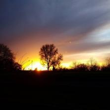 #dukesmeadows #london #sunset