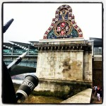Walking along the #Thames near #BlackfriarsBridge #london #londra #londres