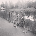 First session with #roadbike #london #chiswickpark