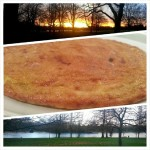 #roadbike session at #hydepark ends with #homemade #onion #omelette