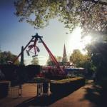E abbiamo anche il lunapark! #turnhamgreenfunfair #games #rollercoaster #park #london #londra #londonlife #funfair