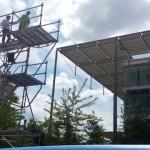 """ViviLondonCom - Valerio's 8 Meters FreeDrop Jump Chiswick Park Enjoy Work"""