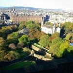 #edinburgh #view from the #castle #scotland