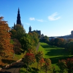 #princesstreet #gardens #edinburgh #scotland #green #park #autumn #uk