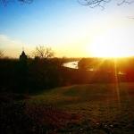 #sunset #thames #view #ham #richmond
