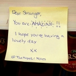 Thank you @thehopefulnotes #surprise #chiswick #sainsburys #thehopefulnotes #london