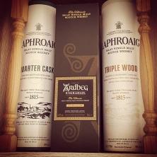 #scotch #whisky #collection | need more space | #laphroaig #quartercask #triplewood #ardbeg #uigeadail