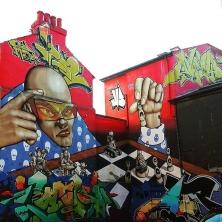 Impressive #graffiti in #brighton #streetart #brightonstreetart